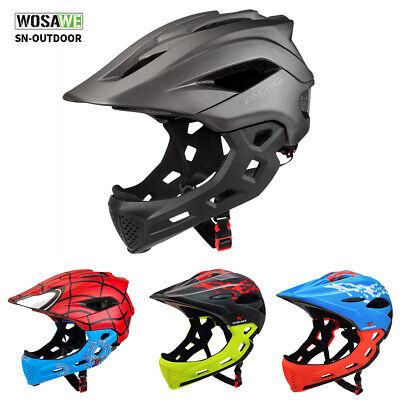 Youth Helmet Kids Motorcycle Full Face Helmets Offroad Dirt Bike Helmet Child