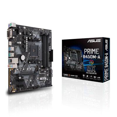 Placa madre de ASUS primer AMD B450 Micro ATX DDR4 SDRAM