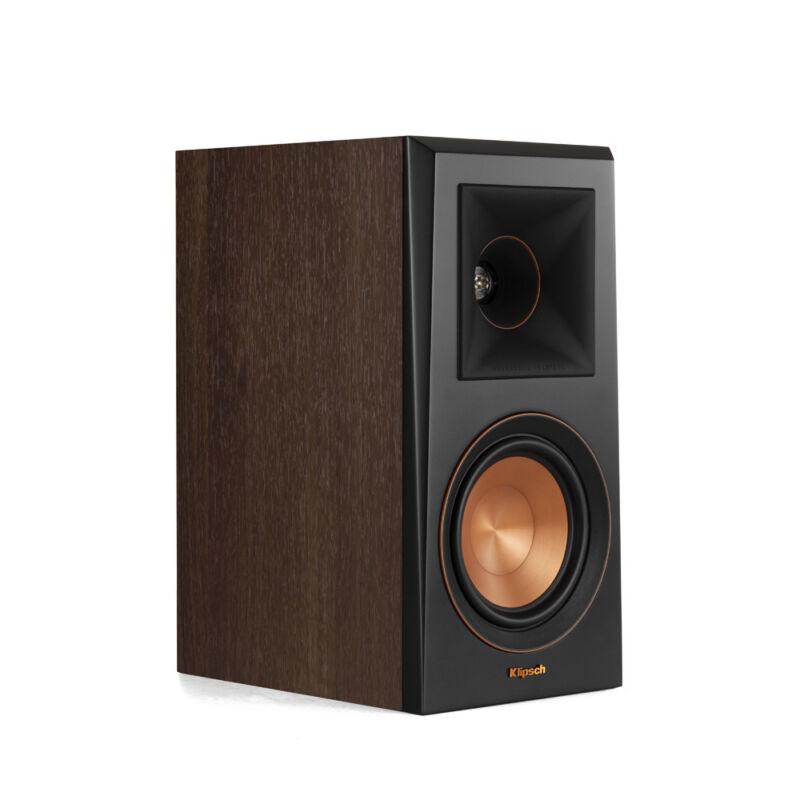 Klipsch Rp-500m Walnut Monitor Speaker