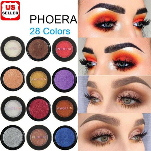 28 Colors Glitter Shimmer Metallic Eyeshadow Palette Pigment Eye Shadow Charm HQ Eye Shadow