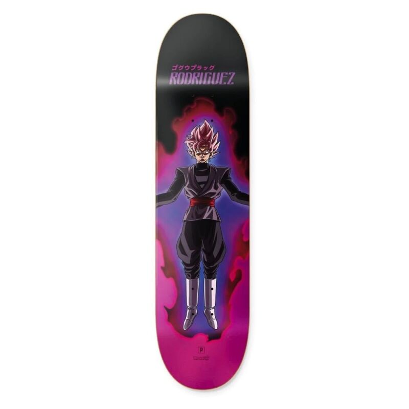 "Goku ""Black Rose"" x Primitive Paul Rodriguez Skateboard Deck 8.25"