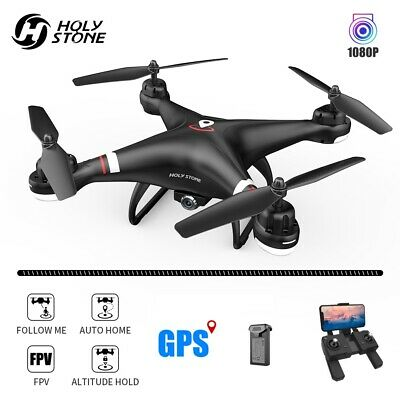 Reverential Stone HS110G GPS drone with 1080P HD camera FPV RC quadcopter tapfly selfie