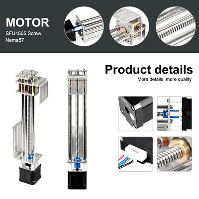 150mm Diy 3 Axis Cnc Z Axis Slide Linear Motion Milling Engraving Machine