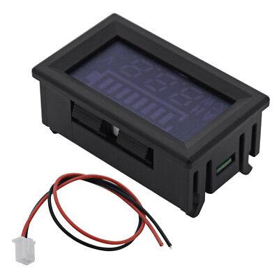 12V Blei Säure Batterie Kapazität Anzeige Spannung Meter LED 6-120V Auto MA395