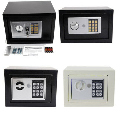 Digital Drop Depository Safe - Electronic Digital Depository Drop Cash Safe Box Gun Jewelry Home Hotel Lock Box