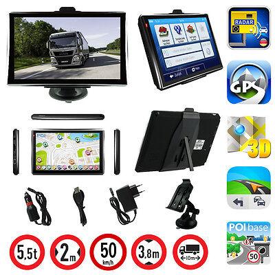 7 Zoll LKW Navigationsgerät mit Kapazitiven Display PKW BUS GPS POI Blitzer MP3