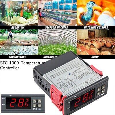 110V-220V Digital STC-1000 All-Purpose Temperature Controller Thermostat +Sensor