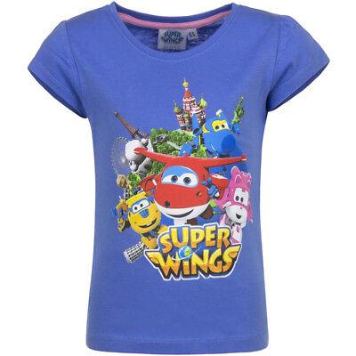 T-Shirt blau (Super Mädchen-shirt)