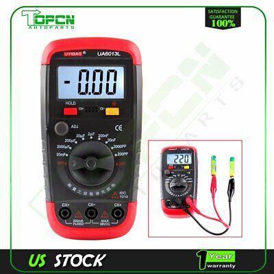 Ua6013l Auto Range Digital Lcd Capacitor Capacitance Tester Meter Multimeter New