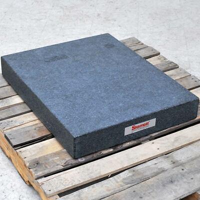 Starrett 36 X 24 X 4 Black Granite Surface Plate Precision Grade A Inspection