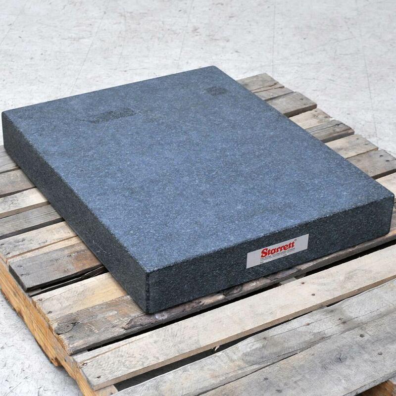 """Starrett 36"""" x 24"""" x 4"""" Black Granite Surface Plate Precision Grade A Inspection"""