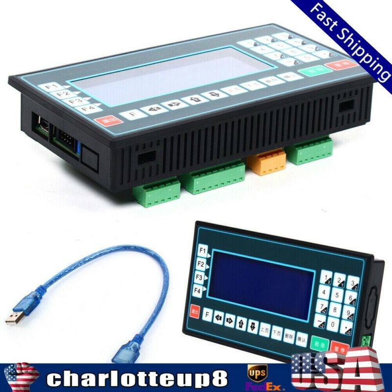 1-4 axes CNC controller USB Standalone Motion Control for Servo Stepper Motor US