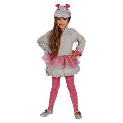 Pferd Kinder-kostüm (Rub - Kinder Kostüm kleines Nilpferd Flußpferd Karneval Fasching)