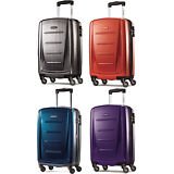"Samsonite Winfield 2 Fashion Hardside 20"" Spinner Luggage Carry On Suitcase"