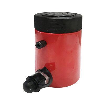 30 Ton 2 Stroke Hydraulic Cylinder Lifting Jack Ram 6 Closed Height Lock Nut