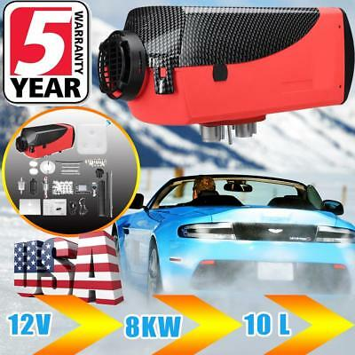 8000W LCD Air Diesel Heater 8KW 12V  Thermostat for Cars Trucks Motor-Homes Boat