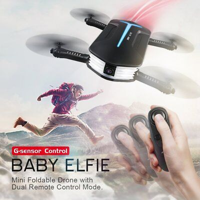 Foldable 6-Axis ELFIE Quadcopter WIFI FPV Phone JJRC Selfie Camera Drone 720P