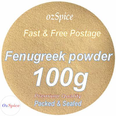 Fenugreek powder 100g Herbs & Spices - Ozspice