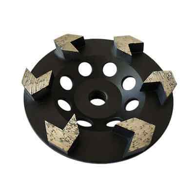 5 Arrow Seg Diamond Grinding Wheels For Concrete Epoxy Grinding 58-11 Arbor