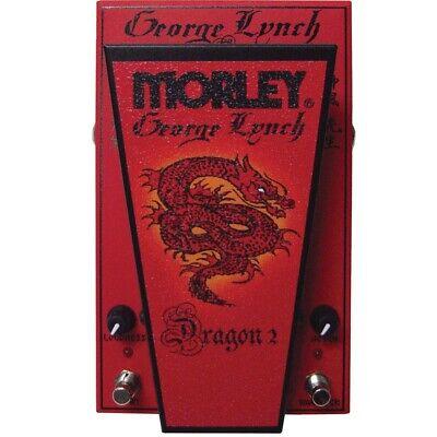 Morley George Lynch Dragon 2 Wah Guitar Effect Pedal
