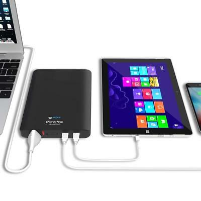 ChargeTech Portable AC Outlet Battery Pack 27000mAh External Power Bank Travel