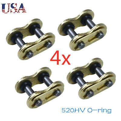 4x 520HV Chain Master Link O-Ring Masterlink For 520HV Drive ChianDirt Bike Quad