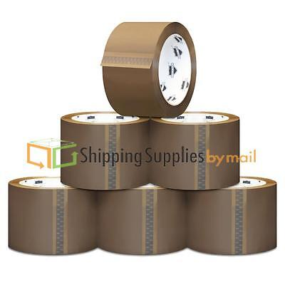 72 Rolls Carton Sealing Brown Packing Tape Shipping - 2 mil 2