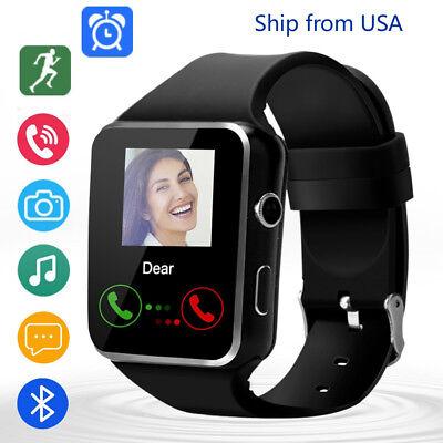 Bluetooth Smart Watch Unlocked Watch Cell Phone for Men Women Samsung iPhone LG ()