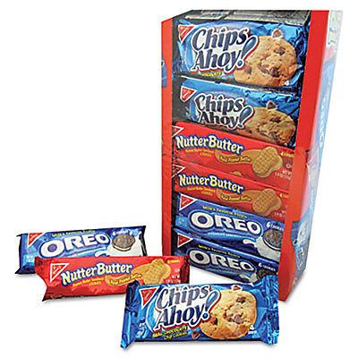 Halloween Dessert Cookies (Nabisco Variety Pack Cookies Assorted 1 3/4oz Packs 12 Packs/Box)