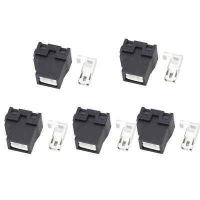 5 Sets 1 pin Connector Ceramic H1-2B car lamp holder elbow holder DJ701-6.3-2B