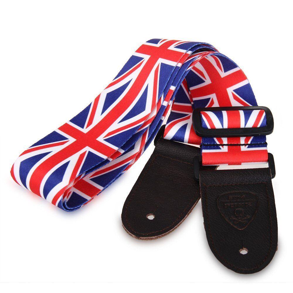 Union Jack British Flag Great Britain Guitar Strap Punk Rock