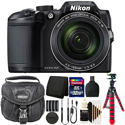 Nikon Coolpix B500 16MP Point and Shoot Camera with 32GB Accessory Bundle](point and shoot camera deals)