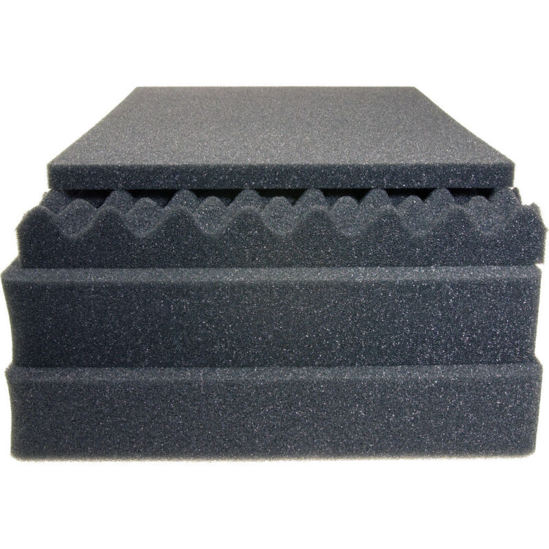 Replacement foam for the Pelican 1520. 4 piece Upgraded set. (2 middle pluck)
