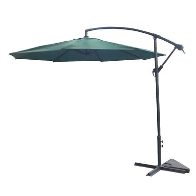 Palm Springs 10ft Offset Garden Umbrella Outdoor Patio Hangi