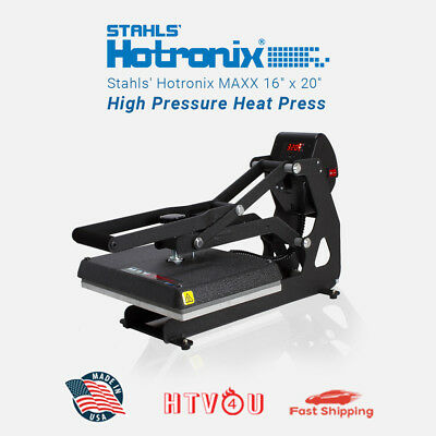 Stahls Hotronix Maxx Clam Heat Press Maxx20-120 16 X 20