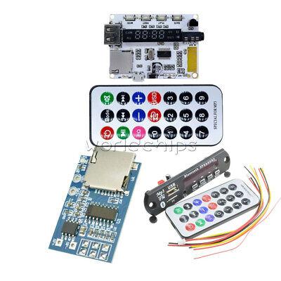 Wireless Bluetooth Mp3 Tf Decoder Board Audio Amplifier Module Usb Radio For Car