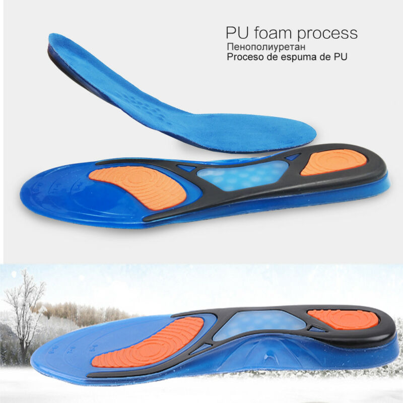 Unisex Sport Sports Insoles Insert Shoe Pad Arch Cushion PD