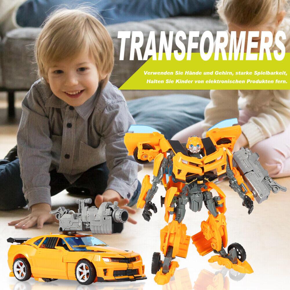 Kinder Transformers Bumblebee Roboter Flim Figur Auto Actionsfigur Spielzeug Neu