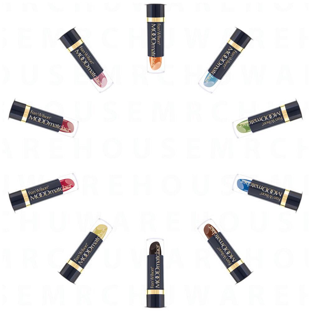 Fran Wilson Beauty Makeup Waterproof Mood Matcher Color Changing Lipstick