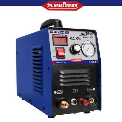 Air Plasma Cutter Pilot Arc Cnc Compatible 50a Dual Voltage 110220v