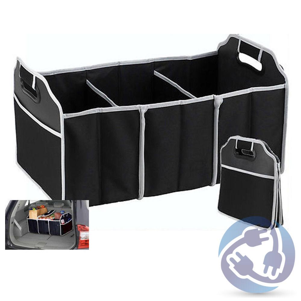 Collapsible Trunk Organizer Caddy Bag for Car Truck Van Folding Storage Bin