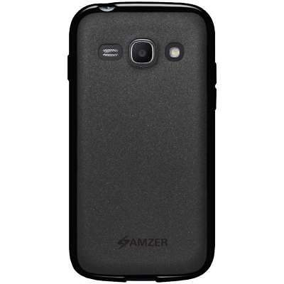 Used, FOR SAMSUNG GALAXY ACE 3 DUOS GT-S7272 AMZER BLACK TPU PUDDING COVER CASE for sale  Shipping to India