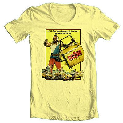 Dc Cab T Shirt Mr  T 1980S Retro Movie Funny Comedy Film Vintage Cotton Tee