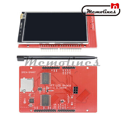 3.2 Inch Tft Lcd 5v Touch Screen Expansion Shield With Touch Pen For Arduino