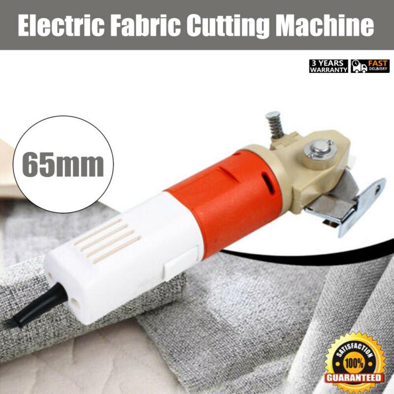 Electric Fabric Leather Cutting Machine Cloth Cutter 65MM Round Scissors Blade