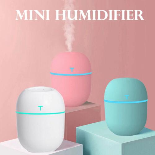 220ml Portable USB LED Mini Car Home Humidifier Aroma Oil Diffuser Mist Purifier