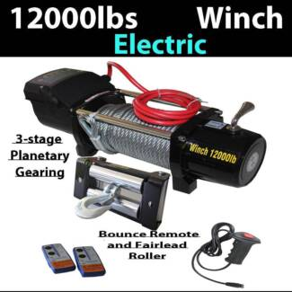 6 ton 12000LBS winch Steel Cable Electric Wireless Remote 4x4 tru Craigie Joondalup Area Preview