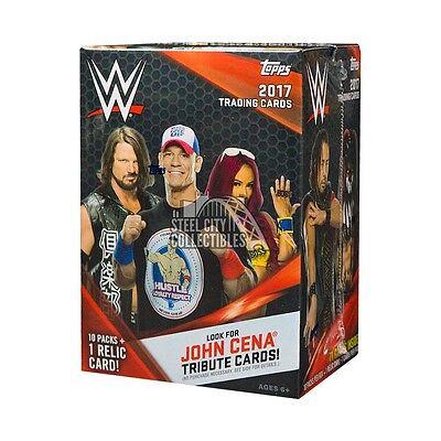 2017 Topps WWE Wrestling 10ct Blaster Box