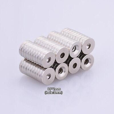 10 Big Strong Neodymium Fridge Magnet Rare Earth Magnets Craft Magnets 10110750
