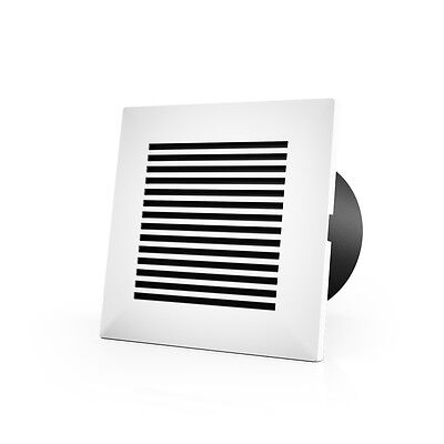 Wall-mount Duct Grille For 4-inch Ducting Heating Cooling Ventilation Exhaust
